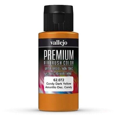 Vallejo Premium: Candy Dark Yellow  60ml 62.072 Airbrushfarbe