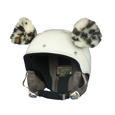 r Helm Ohren Helmet Ears Skihelm Cheetah Gepardenohren Ski (Cheetah Ohren)