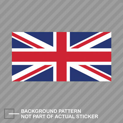 Jack Flag Stickers - Flag of the United Kingdom British Sticker Decal Vinyl UK Royal Union Jack
