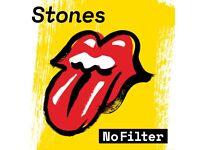 Rolling Stones - No Filter x 3 / 22 May / London Stadium