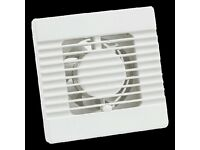 BRAND NEW PACKAGED Manrose 100mm Standard Axial Bathroom Fan - NVF100S