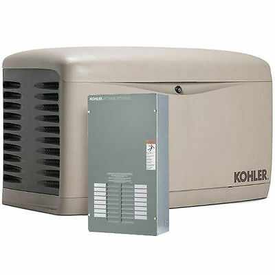 Kohler 14kw Composite Standby Generator System 100a Indoor 16-circuit Switch