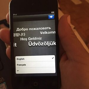 32 g iPod touch 4th gen