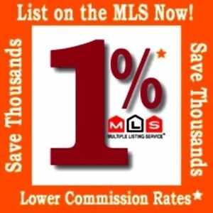 List Your Home For Just 1% Listing Commission