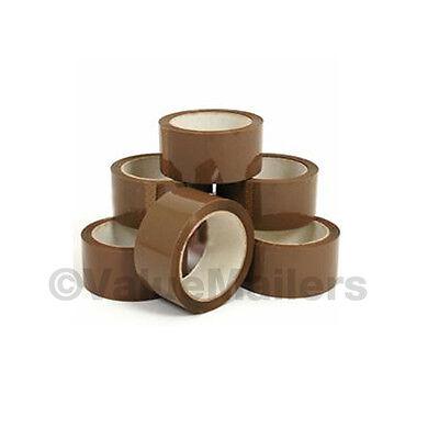 Quality Tan Packing Tape 2 X 110 Yd Rolls 18 Pk