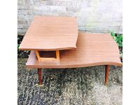 Pair of 50's side tables