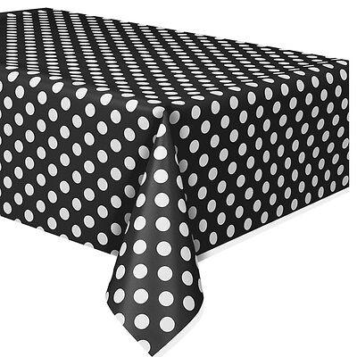 schwarz und weiss, Punktedesign, Partydeko (Schwarz Und Weiß Party-deko)