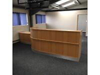 Reception Desk 4 Mtrs