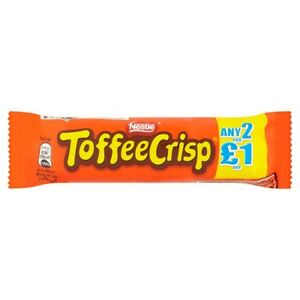 Full Case Nestle Toffee Crisp X 24 Bars Free Delivery £12.49  Free Tracked Post
