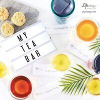 Tea bar tasting