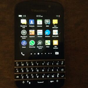 Blackberry Q10 Unlocked.