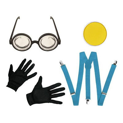 World Book Week Kids Factory Minion Fancy Dress (World Book Week Kostüm)