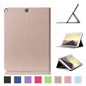 Generic 2-Fold Smart Case Cover for Samsung TAB A 9.7 T550, PU L Kitchener / Waterloo Kitchener Area image 1