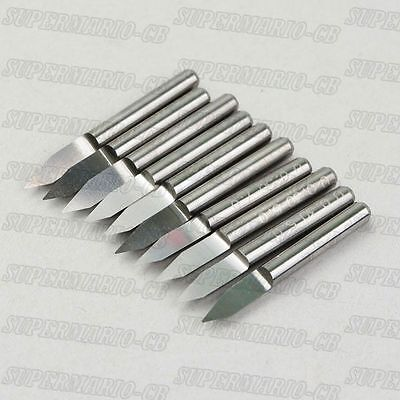 10x 18 High Qulaity Carbide Pcb Engraving Bit Cnc Router Tool 45 0.3mm