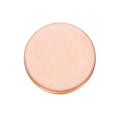 "Copper Blanks Circle 1.5"" 24ga Pkg Of 6"