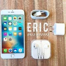 Pre owned iPhone 6 Plus silver 16G UNLOCKED with all accessories Calamvale Brisbane South West Preview