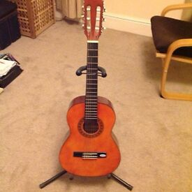 Children's 1/2 Size Classical Guitar & Stand