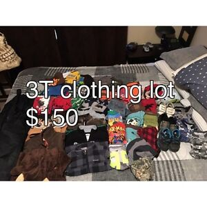3T boys clothes lot Prince George British Columbia image 1