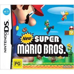 New Super Mario Bros DS in Box with Manuals