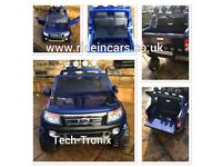 Ford Rangers 12v In Met Blue, Leather Seat