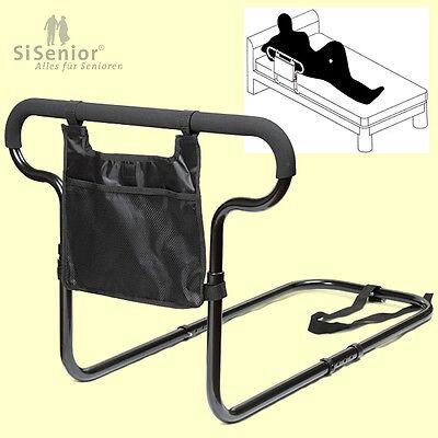 Bettgeländer / Bettgriff mit Tasche