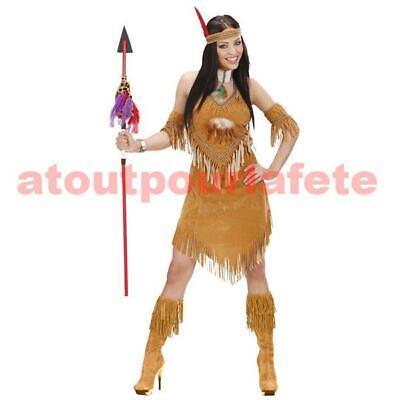 Déguisement d' Indienne adulte, - Kostüm D'indienne Adulte