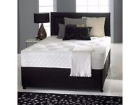 NEW DIVAN BEDS - MEMORY FOAM POCKET MATTRESSES - DELIVERED - MFS