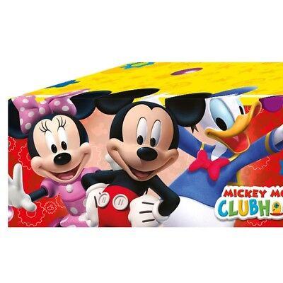 Mickey Maus Folien-Tischdecke, 1,2m x 1,8m
