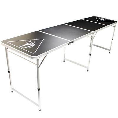 NEW! Official Size 8 Foot Folding Beer Pong Table BBQ Drinking Party