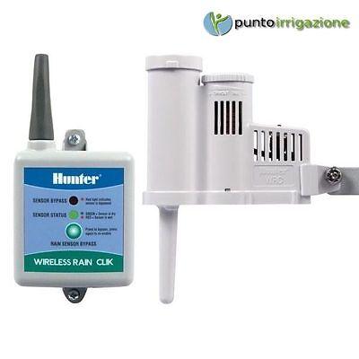 Sensor Rain & Receiver Hunter WRC Rain Click Wireless with Quick Response