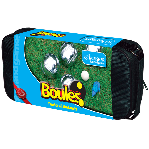 STEEL FRENCH BOULES PETANQUE SET 8 BALLS JACK HOLDER & BAG SUMMER FUN PARTY GAME