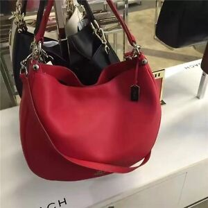 Brand new Nice red coach nomad hobo bag