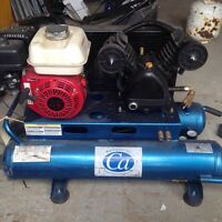 Gas air compressor