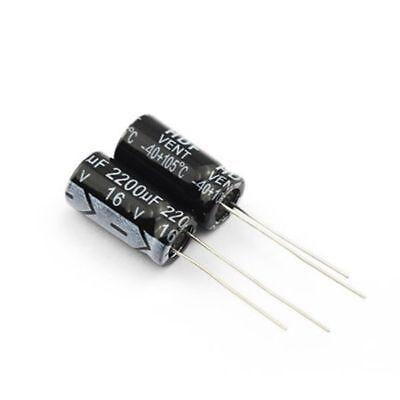 16v Electrolytic Capacitor 1000uf 1500uf 1800uf 2200uf 3300uf 4700uf 10000uf Mfd