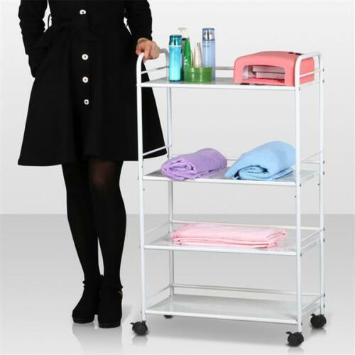 Beauty Salon Spa Styling Station Trolley Equipment Rollin...
