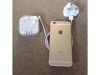 iPhone 6 64gb in gold