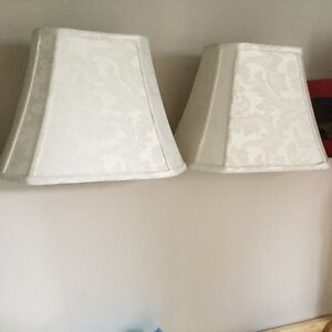 5 Replacement fabric lamp shades, various sizes St. John's Newfoundland image 1