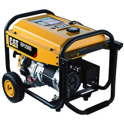 Cat Rp5500 - 5500 Watt Portable Generator
