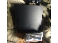 PS3 250gb 6games