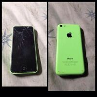 iPhone 5c (Green) & iPad mini (Silver) FOR SALE $$$