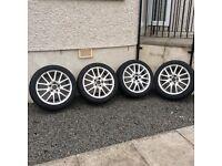 "VW Golf Gt Tdi 17"" Classix Alloy wheels & tyres"