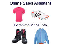 Online Sales Assistant - eCommerce/eBay/Amazon Clothing & Footwear - £7.20 ph, Part-Time/Full-time