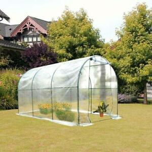 11.5x6.6x6.6ft Walk-in Tunnel Greenhouse Portable Transparent / Brand New in box direct from Factory