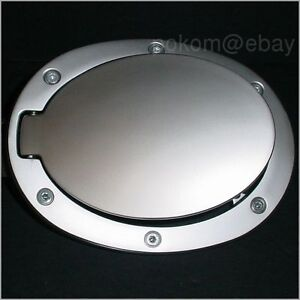 Genuine Mazda3 OEM Fuel Door - Pearl Satin Finish
