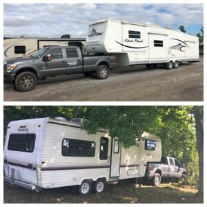 Camper Trailer 5th Wheel Delivery Towing Service
