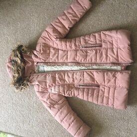 Next Girls Winter Coat size 5yrs