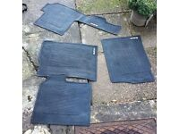 Suzuki branded rubber car mats.