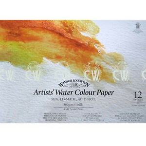 Winsor & Newton Artist WaterColour Paper Pad A3 300gsm 140lb Artists Quality