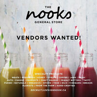 The Nooks General Store: VENDORS WANTED!
