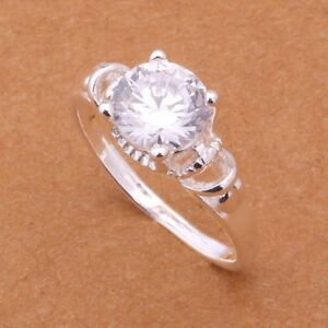 STERLING SILVER 925 RING - size 8